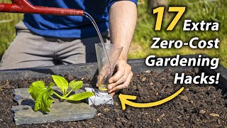 17 MORE Brilliant FREE Vegetable Gardening Hacks | Productive and Easy Garden Hacks