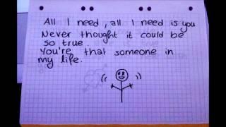 Brianna - All I need (Lyrics)