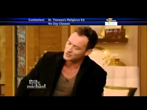 JUDE LAW Interview Live! With Kelly and Michael