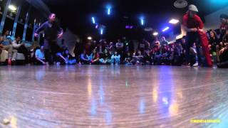 World Bboy Classic Italy 2016 - Bgirl battle Final - Elettra vs Seven