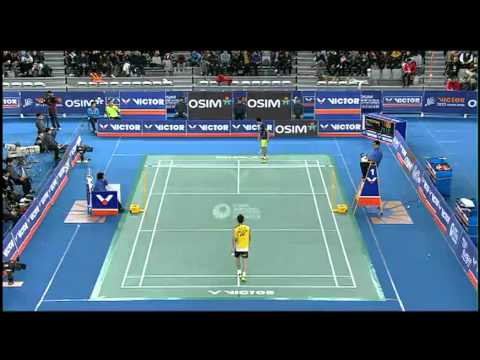 LINDAN VS LEE CHONG WEI Victor Korea 2012 final