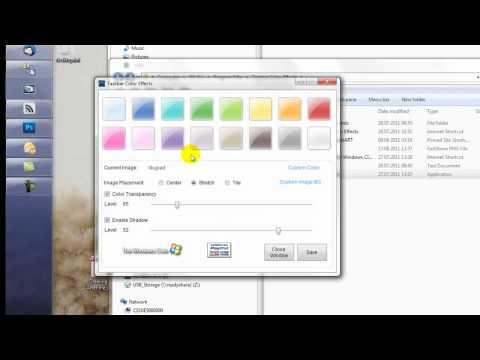 Taskbar Color Effects v1
