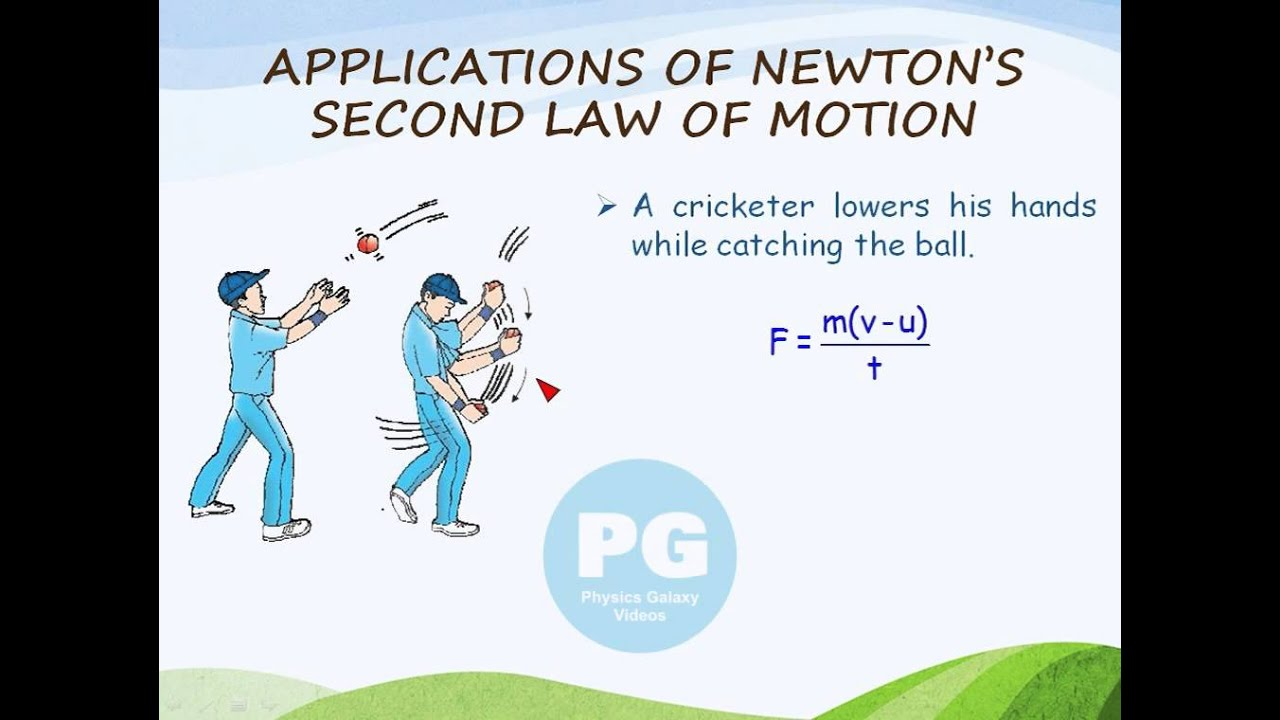 applications of newton s second law of motion ga m nlm18 youtube