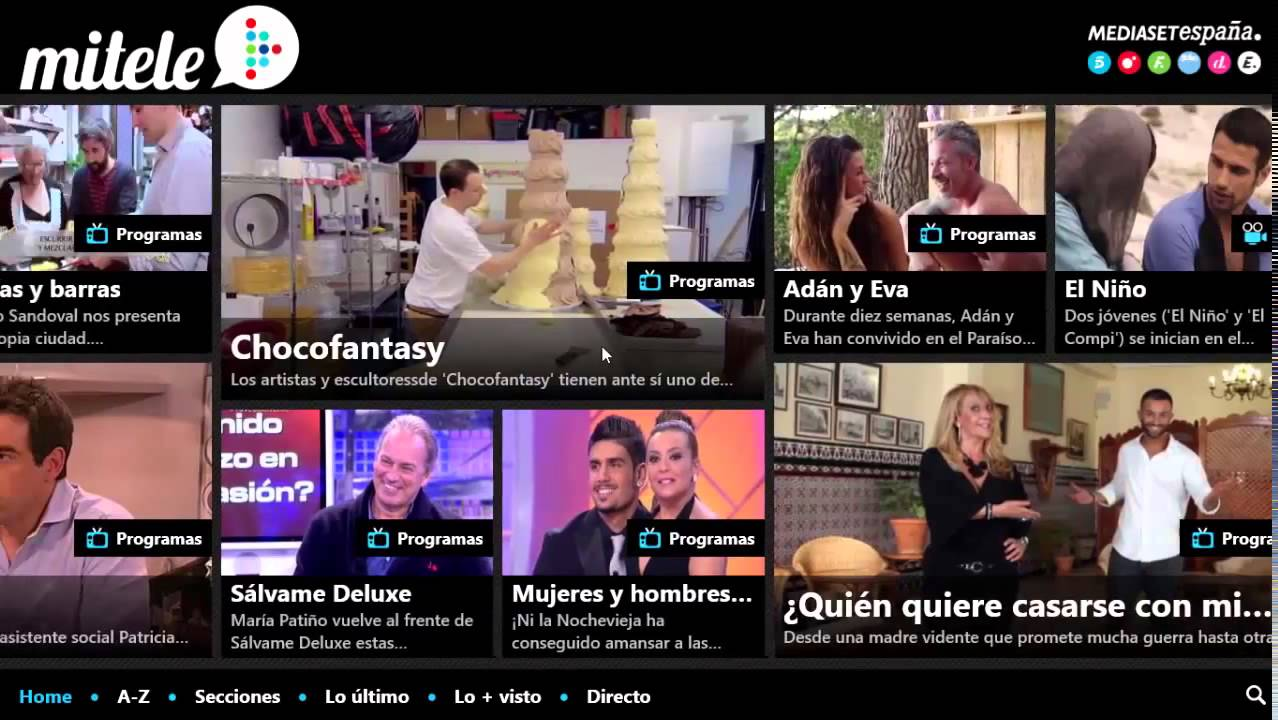 Mitele Mediaset España 720p - clipzui.com