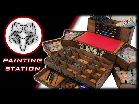 Portable Painting Station Youtube