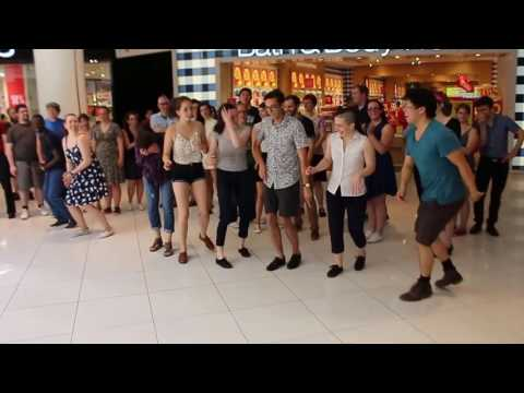 Swing Dancing at the Rideau Centre in Ottawa with Peter Liu and the Pollcats (60fps, stabilized)
