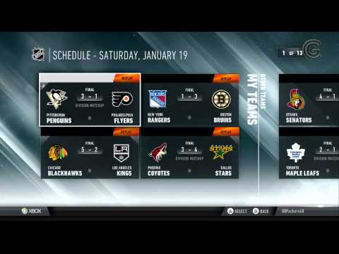 NHL GameCenter Xbox 360 App - Game Chronicles Video Review