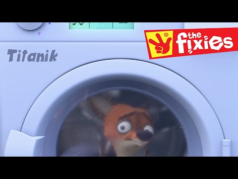 The Fixies ★ Stuck In The Washing Machine Plus More ★ Fixies English | Videos For Kids
