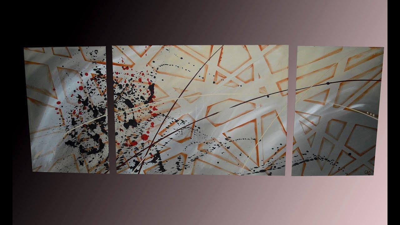 How to paint abstract manhattan gecko bilder hd youtube