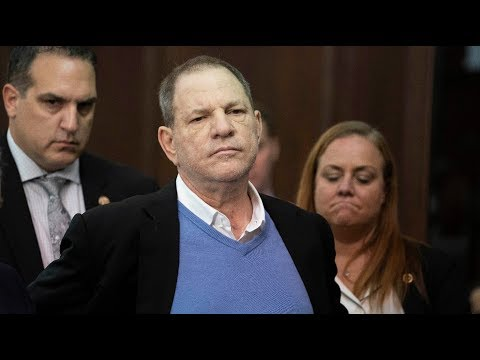 Harvey Weinstein appears in court on rape and sex assault ch