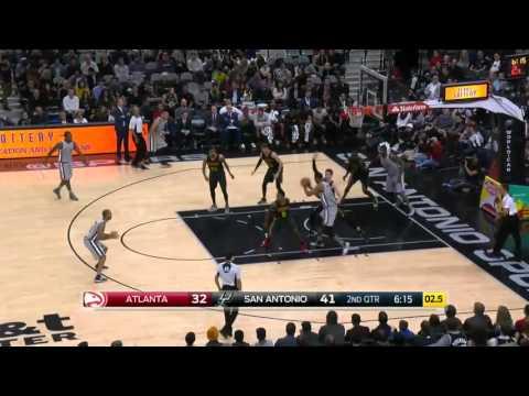 Atlanta Hawks vs San Antonio Spurs | November 28, 2015 | NBA 2015-16 Season