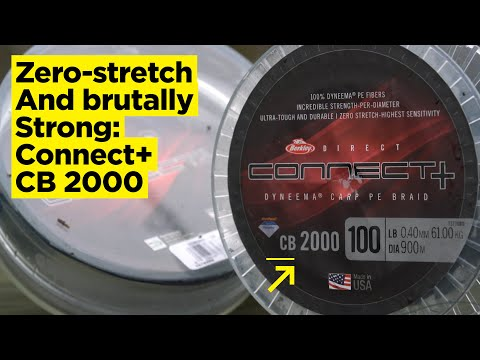 CARPologyTV | Berkley Connect+ CB2000 Braid Review | Zero-stretch And Brutally Strong