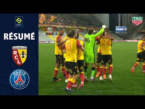 RC LENS - PARIS SAINT-GERMAIN (1 - 0 ) - Résumé - (RC LENS - PARIS SG) - 2020/2021