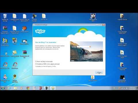 Como Descargar Skype Full bien explicado 1 link