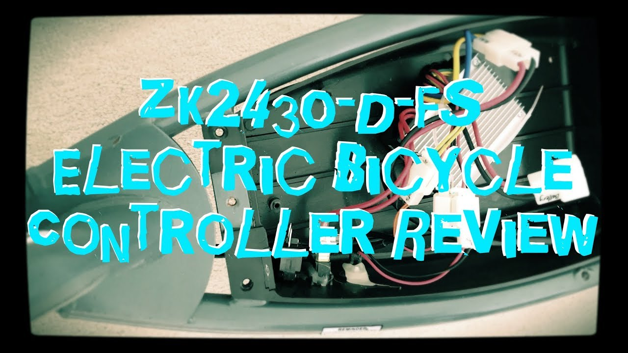 ZK2430-D-FS Electrical Bicycle Controller - YouTube