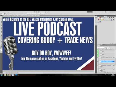 LIVE stream: Buddy set to join Sydney + Trade News