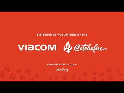 Viacom + Catchafire Enterprise Volunteer Event