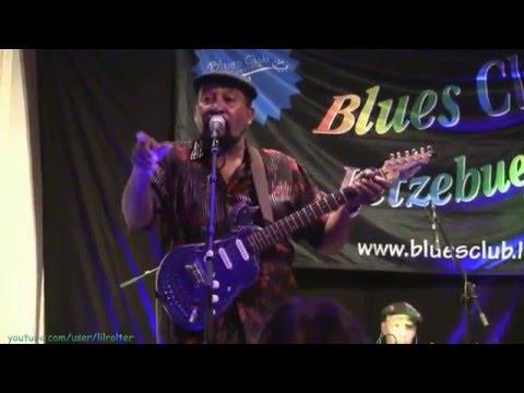 """Super Chikan """"Hookin' up""""  live @ Blues Club Lëtzebuerg"""