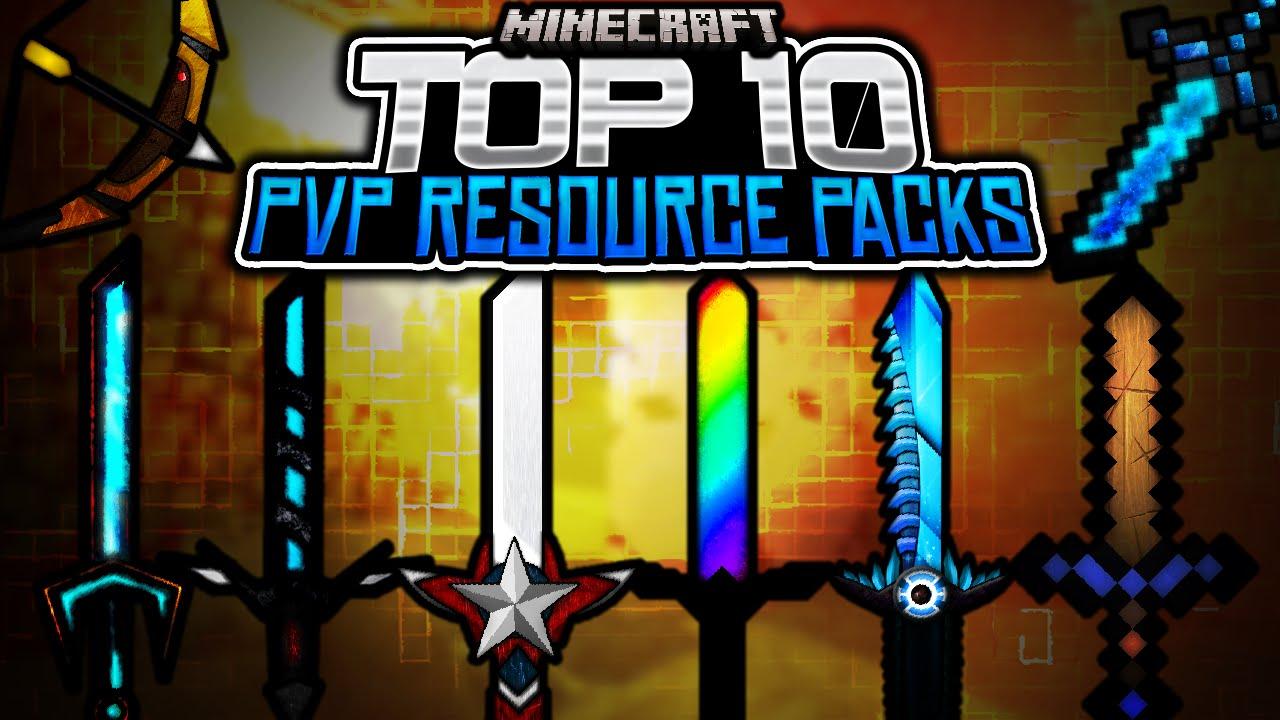 Top 10 Minecraft Pvp Texture Resource Pack 1 7 1 8 1 9