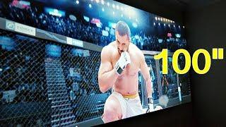 """Video ARTLii HD 720 LED Home Cinema Projector - Native 720 - 200"""" Screen download MP3, 3GP, MP4, WEBM, AVI, FLV Juni 2018"""