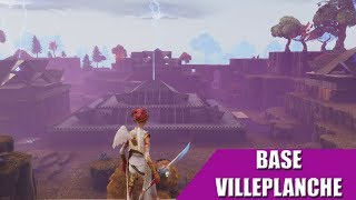 MY BASE FORTNITE SAUVER THE WORLD