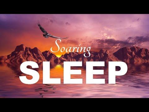 Soaring Sleep: Guided Body Mind Meditation Hypnosis before sleeping (ASMR Sleep voice)