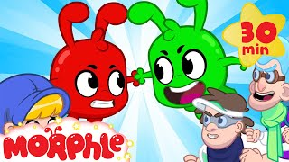 The Orphle Bandits - Morphle vs Orphle | Superheroes and Robots | Cartoons for Kids | Morphle TV