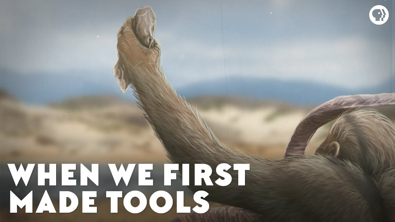 When We First Made Tools