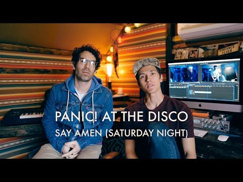 Panic! At The Disco  Say Amen Saturday Night Previs