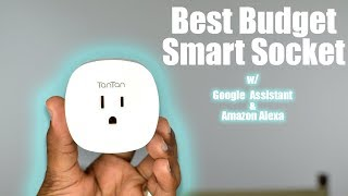 TanTan Google Assistant & Alexa Enabled Smart Plug 2017