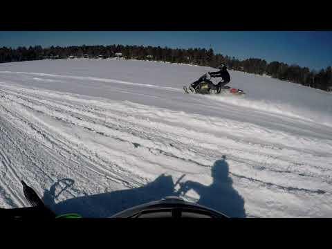 Snowmobiling In Wisconsin Minocqua 2019