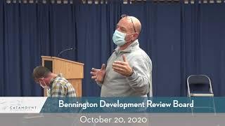 Bennington Development Review Board  // 10/20/20