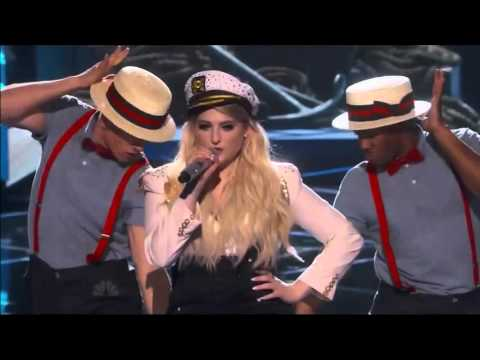 Meghan Trainor Performs Dear Future Husband At  IHeartRadio Music Awards 2015