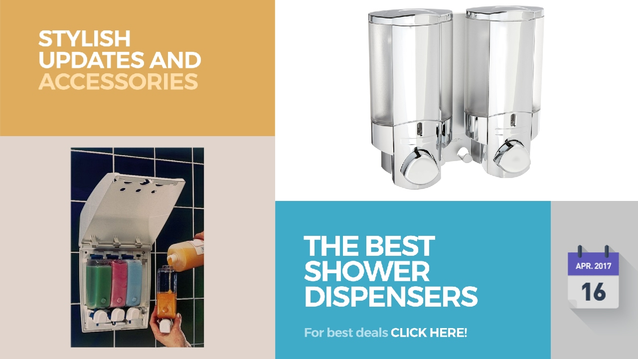 The Best Shower Dispensers Stylish Updates And Accessories - YouTube