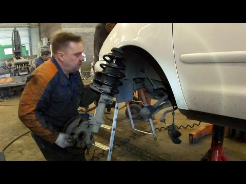 Замена пружины VW Saharan How-To Replace Your Coil Springs