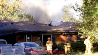 House Fire - 868 Flournoy Lucas Road **LARGE CARPORT FIRE**