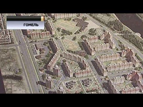 В Гомеле развернулось строительство нового микрорайона Шведская гордка на берегу Сожа