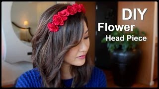 DIY Flower Crown Headband – English