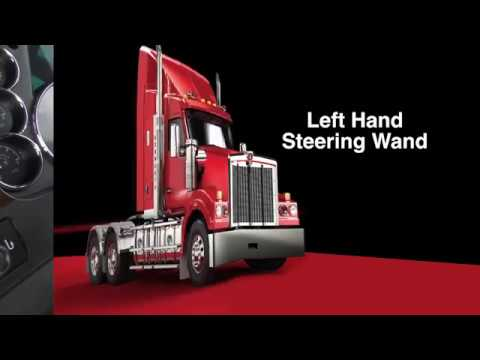 013 T610 Driver Training left hand steering wand