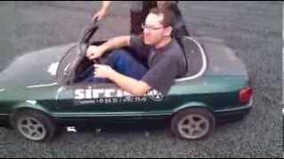 Audi 80 Cabrio Mini Kinderauto Carousel Kids Car