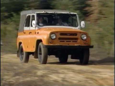 Motorweek Retro Review 94 Russian Uaz Sport Utility And Light