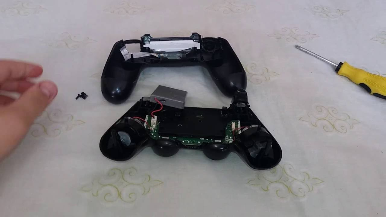 how to install a new ps4 controller