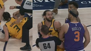 Chriss, Dudley Ejected! Jazz 7th Seed Western Conference! 2017-18 Season
