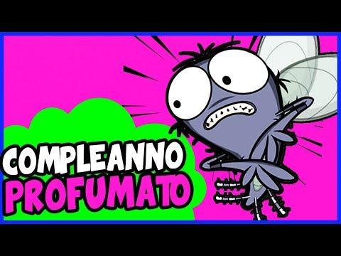 Buon compleanno dalle mosche tanti auguri video for Immagini divertenti di buon sabato