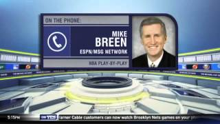 Michael Kay roast and Knicks talk with Mike Breen