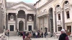 Diocletian's Palace, in Split, Croatia