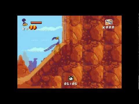 Desert Demolition Прохождение за Road-Runner (Sega)