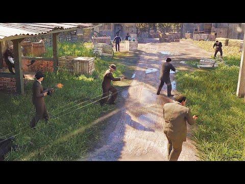 MAFIA DEFINITIVE EDITION NPC Wars 3 (Salieri Crime Family vs Morello Crime Family) |