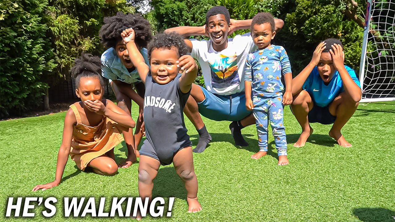 MARCELO CAN'T STOP WALKING!!
