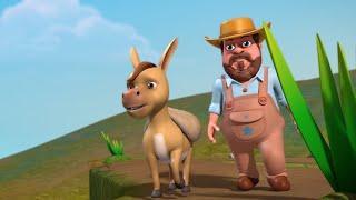 Benny The Silly Donkey   Bengali Kids Stories   Infobells